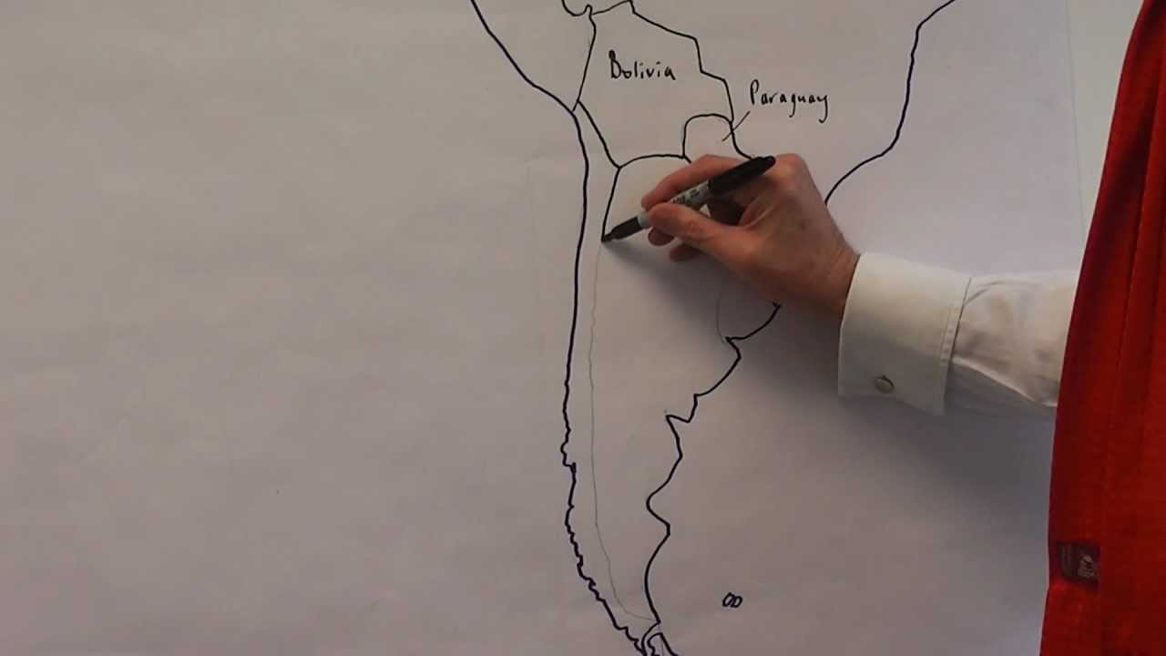 The map of Latin America country names and locations  YouTube