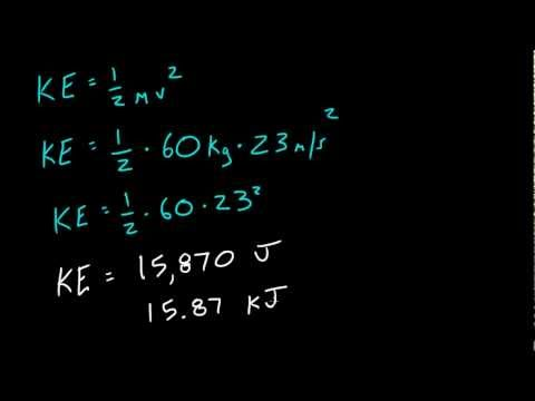 Physics Lecture - 29 - Kinetic Energy