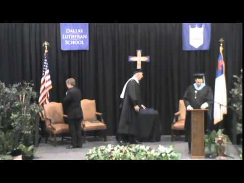 Dallas Lutheran School Commencement 2015