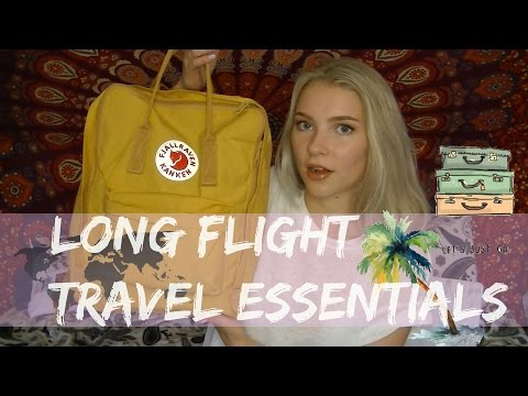 In - Flight Travel Essentials - What's In My Carry On?
