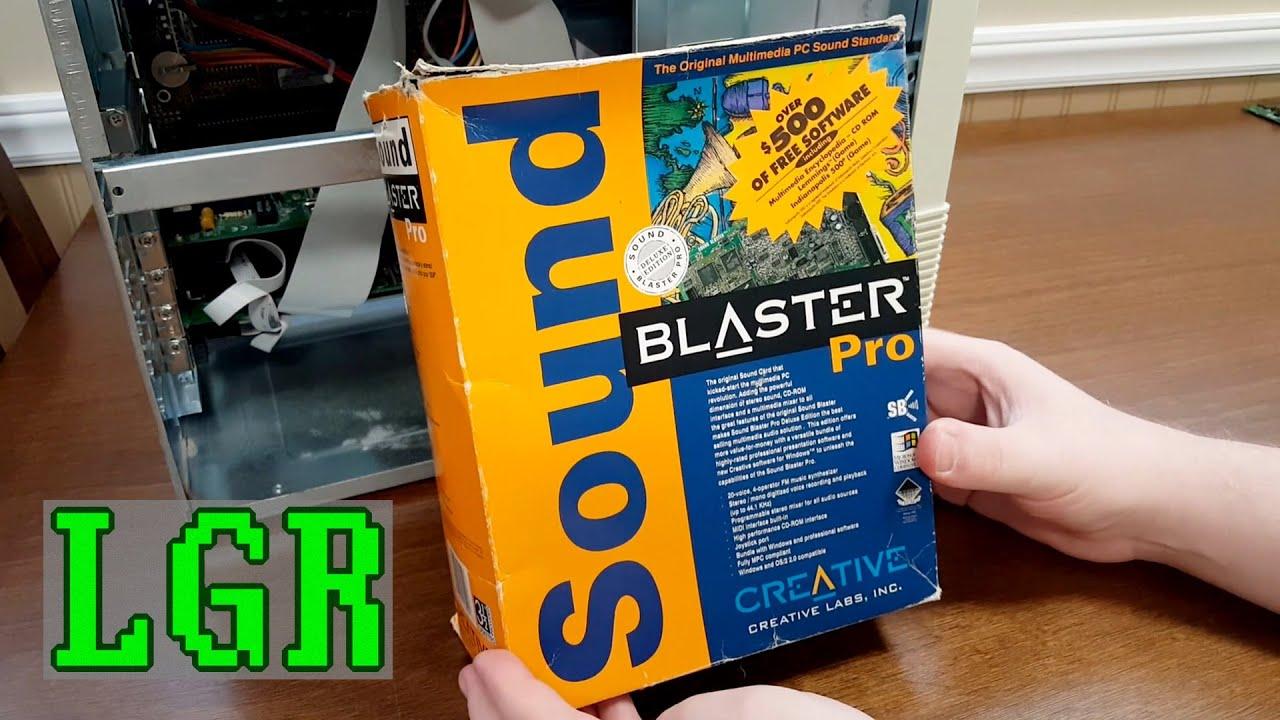 SOUND BLASTER PRO 2 64BIT DRIVER DOWNLOAD