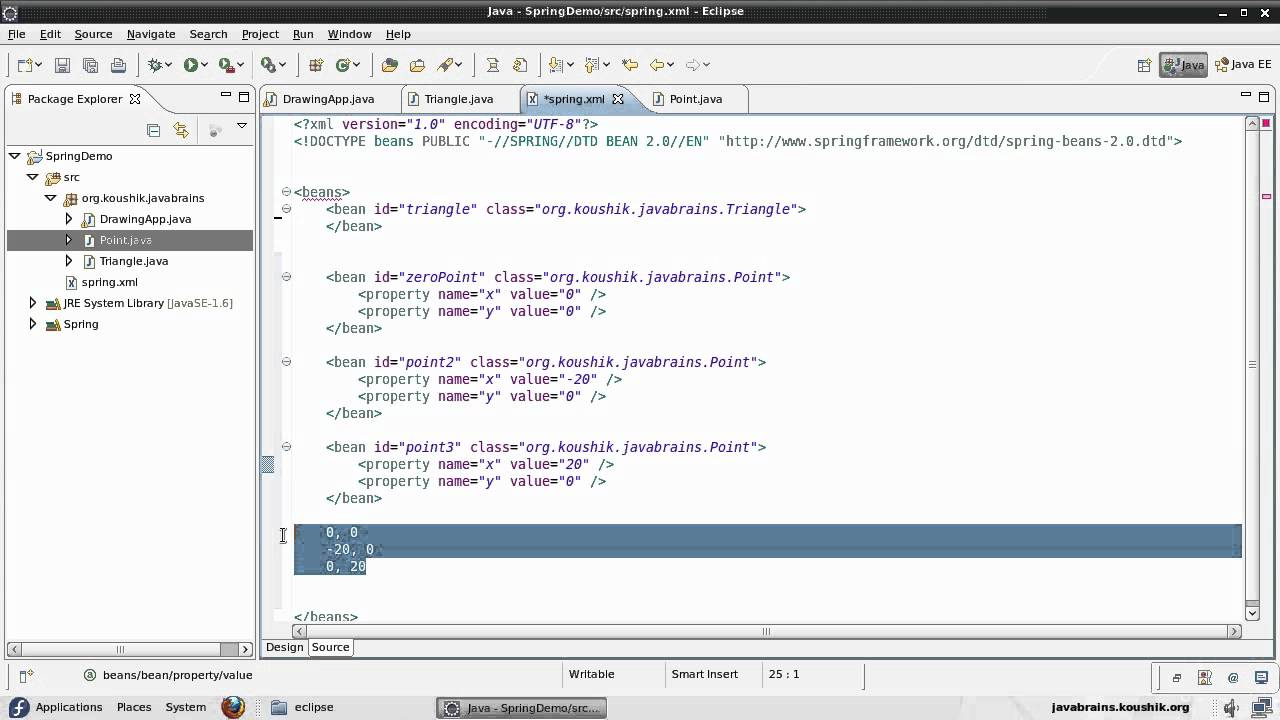Spring tutorial 07 injecting objects youtube spring tutorial 07 injecting objects java brains baditri Gallery