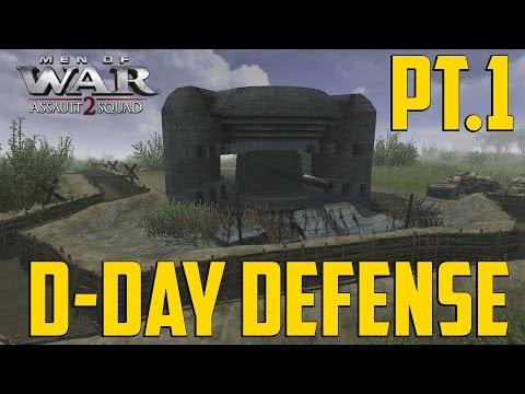 Men of War - D-Day Defense Pt 1