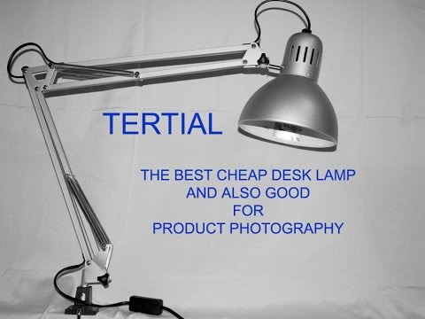 TERTIAL A REALLY GOOD CHEAP DESK LAMP FROM IKEA