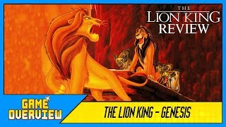 Game OverView - The Lion King