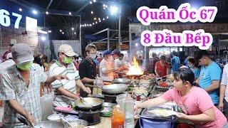 Quán ốc đông nghẹt khách 8 đầu bếp nấu không kịp ở Sài Gòn | Saigon Travel
