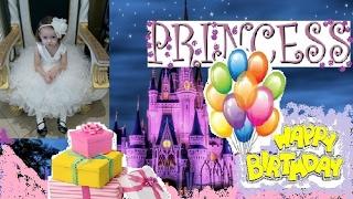 Идеи оформления стола в День рождения ребенку! ЗАМОК для принцессы!