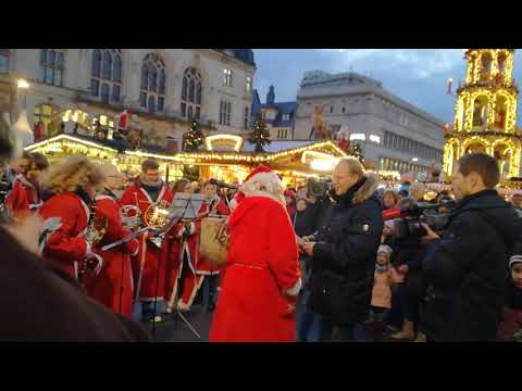 Weihnachtsmarkt Halle Saale 2017