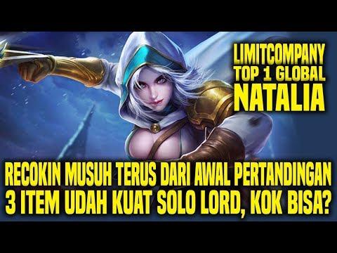 Hal Yang Gw Pelajari Dari Top 1 Global NATALIA LIMITCOMPANY • Mobile Legends Indonesia