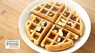 Buttermilk Waffle - Everyday Food With Sarah Carey