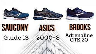 Saucony Guide 13 VS Asics 2000 8 VS