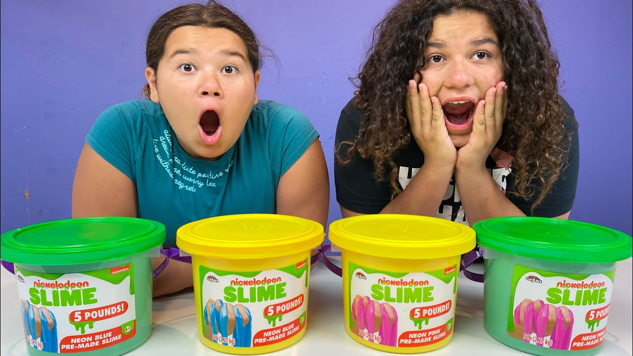Download FIX THIS 5 POUND BUCKET OF STORE BOUGHT SLIME CHALLENGE 2!!