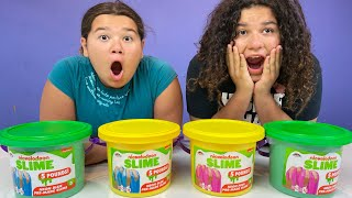 FIX THIS 5 POUND BUCKET OF STORE BOUGHT SLIME CHALLENGE 2!!