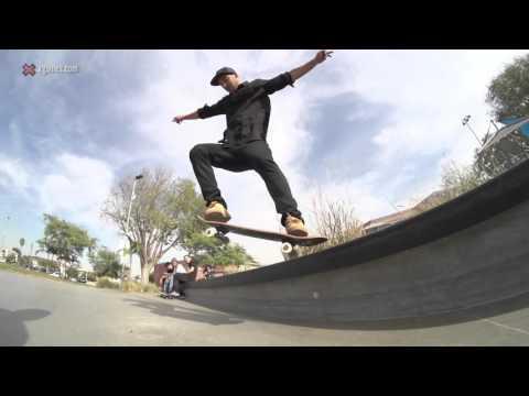 X Games Trick Tips -- Kelvin Hoefler backside tailslide