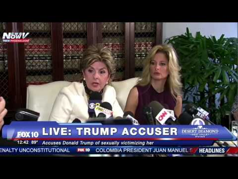NEW TRUMP ACCUSER Talks To Media