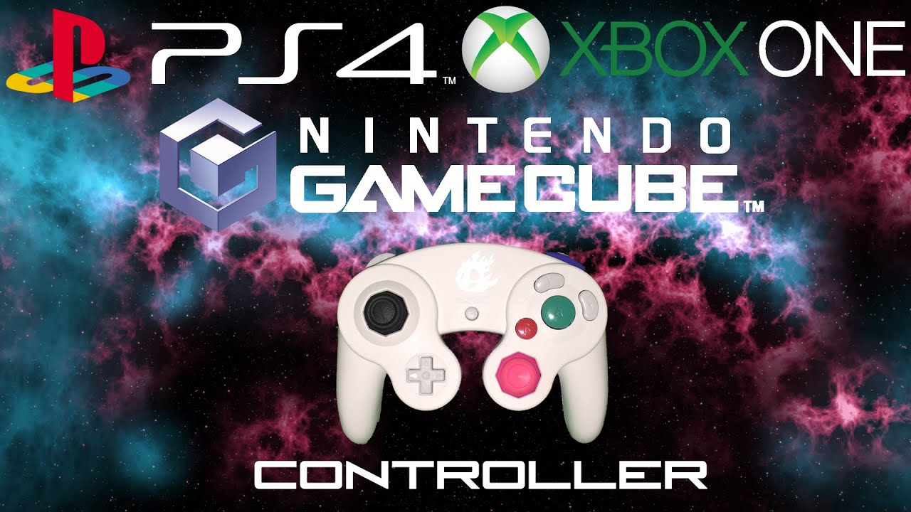 Custom Gamecube Controller W Ps4 Xbox One Parts Trifecta Youtube