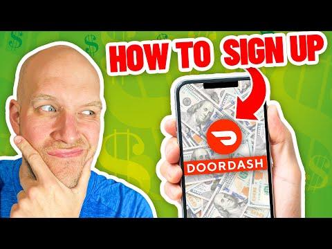 How To Sign Up For DoorDash Driver Program 🚗🚗