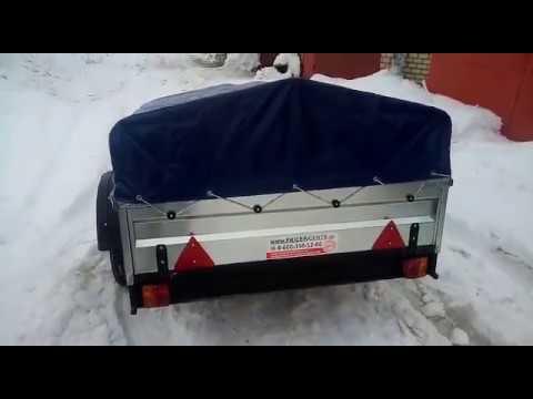 Видео отзыв о прицепе Титан Ленинградская область