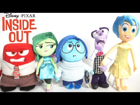 inside out plush dolls from the disney store youtube. Black Bedroom Furniture Sets. Home Design Ideas