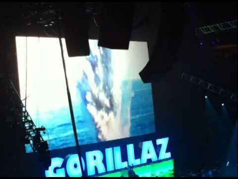 Gorillaz 2010 Key Arena P1.mp4