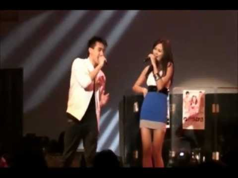 Young JV with Akiko performin' ALAY on A Night To Give Back Benefit Concert