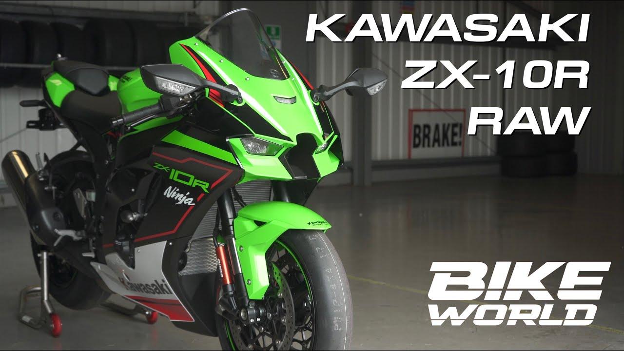 2021 Kawasaki ZX-10R | Raw 4K Track Footage