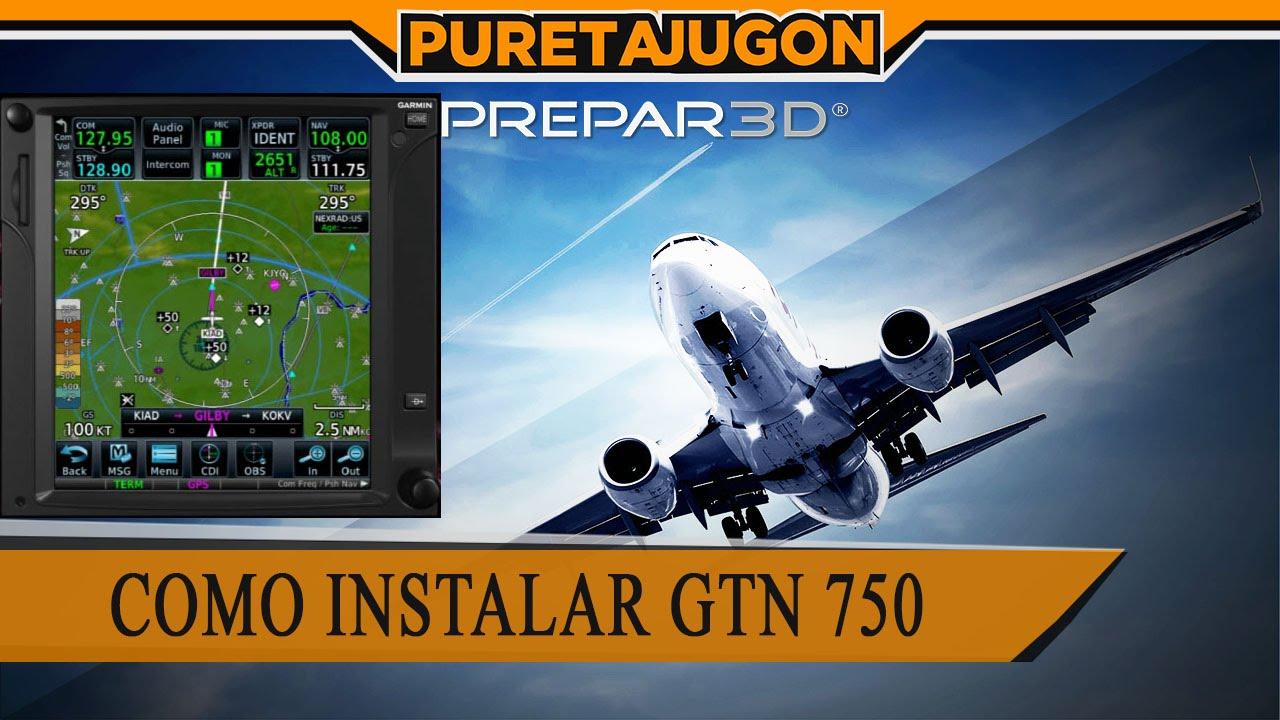 Como instalar GTN 750