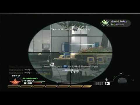 Sniping Kills - MW2 Widescreen Test