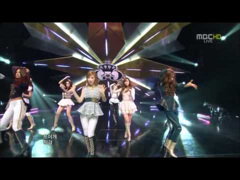 111022 SNSD -The Boys @Comeback Stage