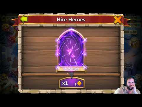 Limited Hero Hire Castle Clash