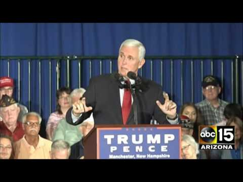 FULL Q&A: Gov. Mike Pence New Hampshire event