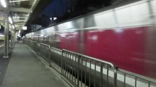 特急かにカニはまかぜ大阪行キハ189系摂津本山駅高速通過!