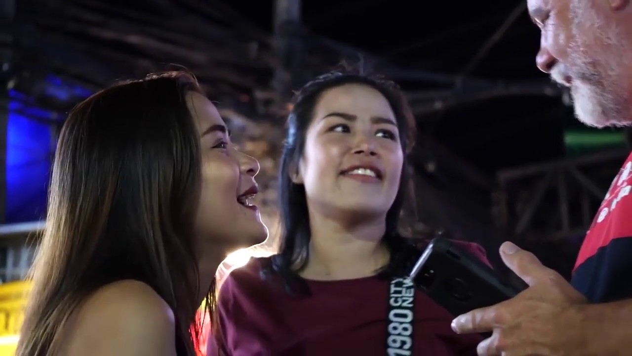 Thailand Girl Red Phuket Nightlife 2018 - YouTube
