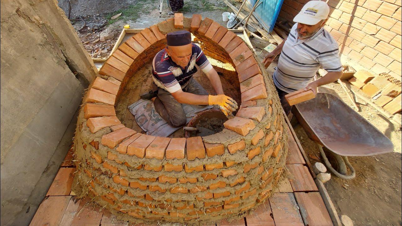 Ekmek fırını nasıl yapılır baştan sona yapımı Turkish bread oven