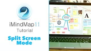 Learn how to use Split Screen in iMindMap 11 with this helpful tuto...