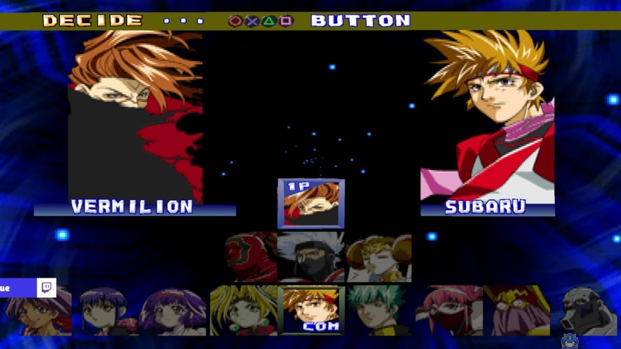 Battle Arena Toshinden 4 All Characters Ps1 Youtube
