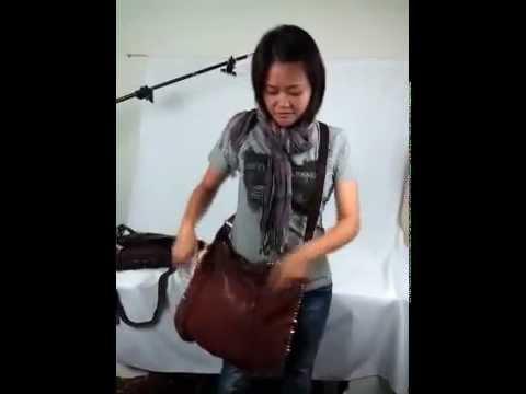 08ff4f8fdb31 Doria Studded Shoulder Bag by Campomaggi - YouTube