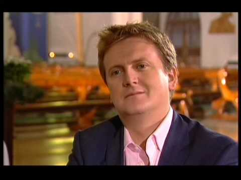 Russell Watson Interview and singing Ave Maria 3rd Jan 2010