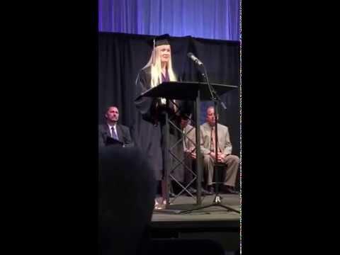 Sophie Hoag's Valedictorian Address - Front Range Christian School, May 23, 2015