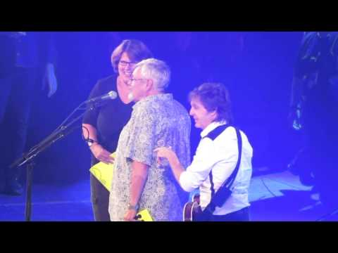 When I'm Sixty-four - Marriage Proposal - Paul McCartney - Albany NY - 5 July 2014 - Best footage