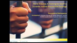 Trauma-Informed Juvenile Justice and Mental Health Systems