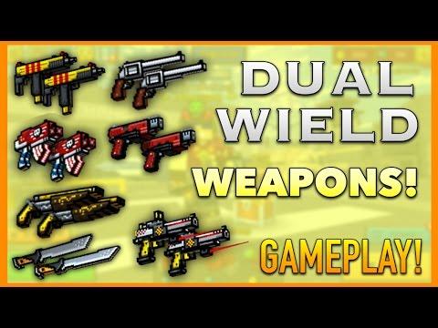 Pixel Gun 3D - Dual Wield Weapon Gameplay!