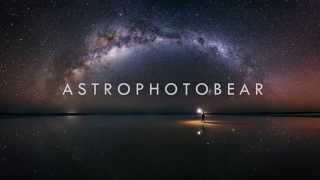Panorama astrophotography process (part 1) - an Astrophotobear tutorial
