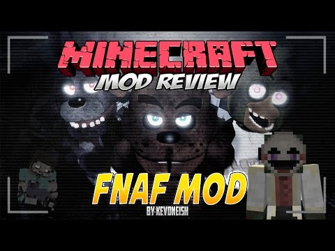 MINECRAFT MOD FIVE NIGHTS AT FREDDY'S 3   1.7.10   El Mod En Español De FNAF Por Kevoneish
