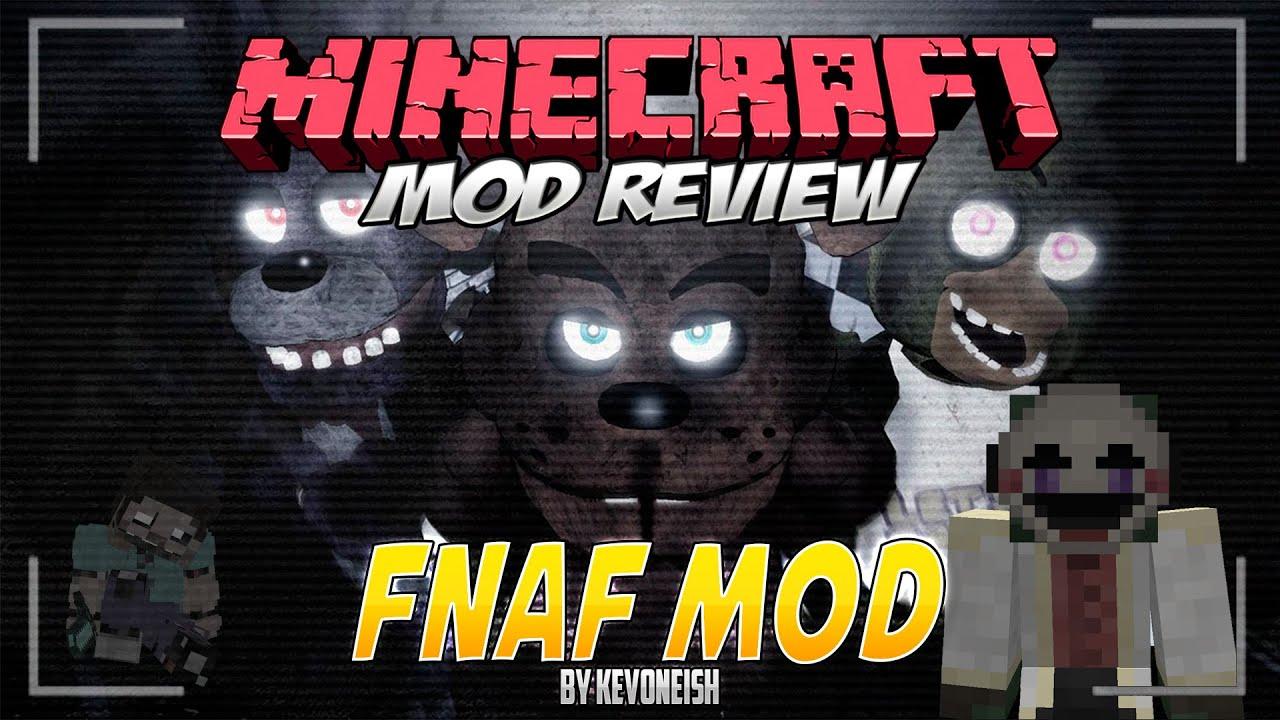Minecraft mod five nights at freddy s 3 1 7 10 el mod en espa 241 ol