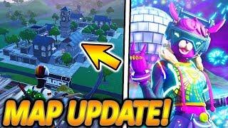 NEW MAP UPDATE IS DA!🎉🔥 | SILVESTER EVENT & DJ BOP SKIN🎧 | NEW UPDATE | Fortnite Battle Roya