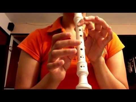 Canción de Titanic en flauta dulce