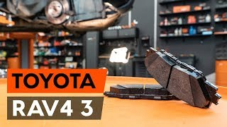 TOYOTA RAV 4 III (ACA3_, ACE_, ALA3_, GSA3_, ZSA3_) Rendszámtábla világítás izzó beszerelése: ingyenes videó