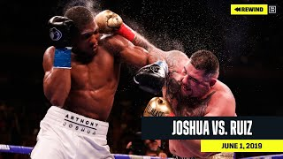 FULL FIGHT | Anthony Joshua vs. Andy Ruiz (DAZN REWIND)