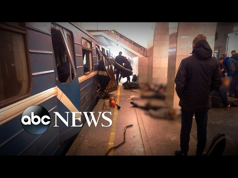 Subway terror attack rocks Moscow